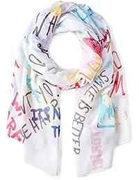 6134e9da124e Amazon.fr   Desigual - Echarpes et foulards   Accessoires   Vêtements