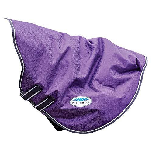 Weatherbeeta Comfitec Plus Dynamic Lite Neck Cover Cob Purple/Black