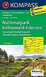 Nationalpark Kellerwald - Edersee - Naturpark Habichtswald - Wanderregion Medebach: Wanderkarte mit Radtouren. GPS-genau. 1:50000 (KOMPASS-Wanderkarten, Band 845)