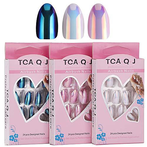 Boîte de 500 faux ongles en acrylique F-NEWEST