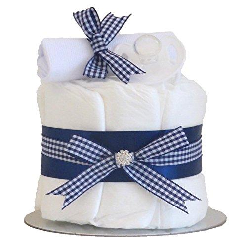 Little Cutie Bleu Single Tier bébé garçon à couches gâteaux/Couche/bébé couches gâteaux/bébé Douche Cadeau idées/cadeau de naissance/envoi rapide