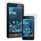 atFolix Displayschutzfolie für ASUS PadFone Mini 4.3 (Tablet&Smartphone) Schutzfolie - 3er Set FX-Clear kristallklare Folie