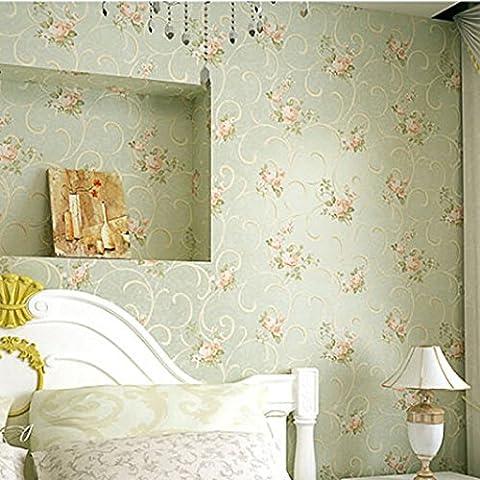 HHY-Fleur de jardin non-tissé wallpaper