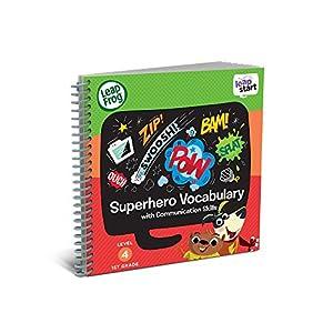 LeapFrog LeapStart - Libro de Actividades para el año 1: superhéroe y Habilidades de comunicación