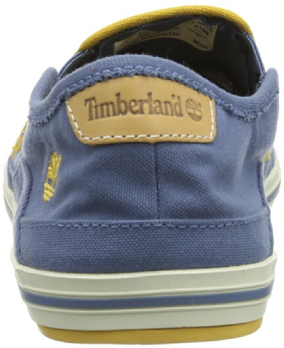 Timberland, EK Casco Bay Canvas Slip-on, Scarpe basse, Uomo Blu (Blu)