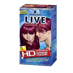 Live XXL  Hair Color, Pure Purple 86