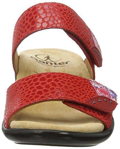 Ganter Gemma-g, Ciabatte Donna Rot (red/rosso)