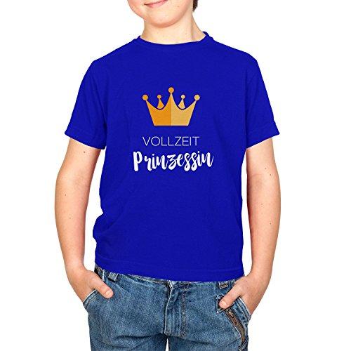 NERDO Vollzeit Prinzessin - Kinder T-Shirt, Größe XL, ()