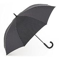 Fulton Fulton Knightsbridge 2 City Blk/Steel Unisex_Adult Umbrella