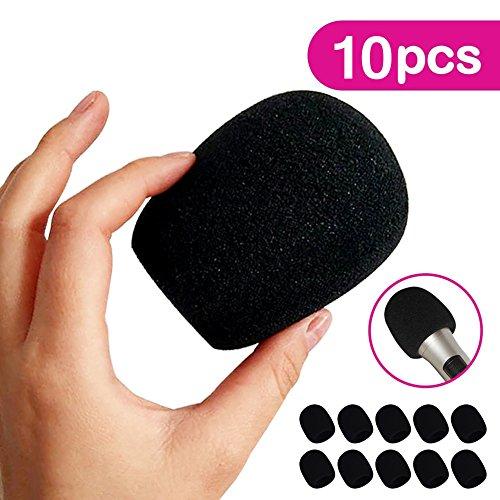 Hulubb grande schiuma mic parabrezza 5pezzi palmare per Blue Yeti MXL audio Technica Pro microfono a condensatore nero