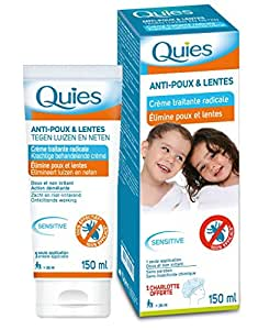 Quies - Crème traitante radicale Anti Poux et Lentes - 150 ml