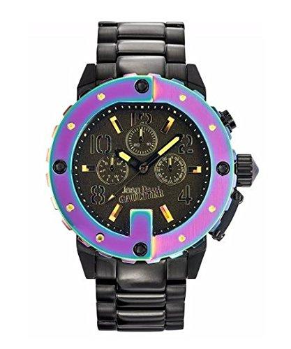 Jean Paul Gaultier Hombre Reloj de pulsera analógico cuarzo acero inoxidable 8500210