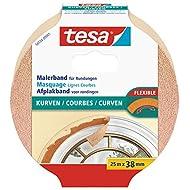 tesa® Spar-Set: 10x 56534-01-00 Malerband Kurven 25 m : 38 mm