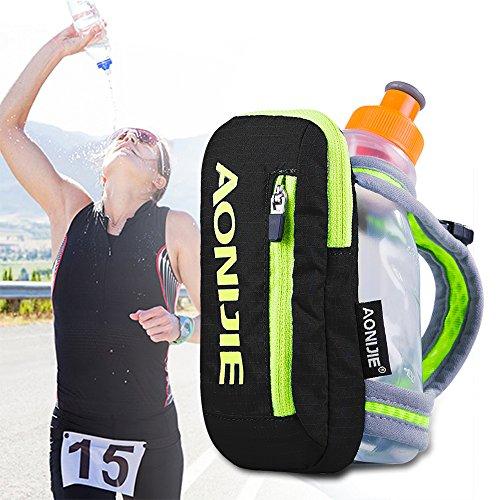 AONIJIE Bolsa de Nylon para maratón de Mano Mochila de hidratación, Correr eléctrica Bolso de Mano...