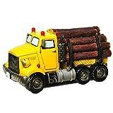 Spardose Holztransporter Sparschwein Bagger Sparbüchse
