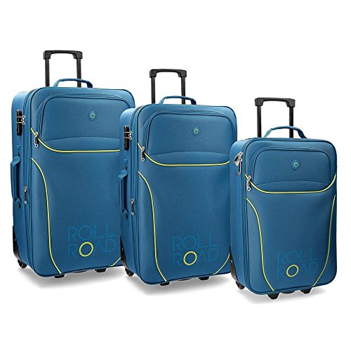 Set de 3 Maletas Movom - Azul