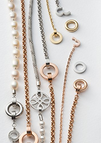 Leonardo-Jewels-Damen-Halskette-Darlins-Ancora-Edelstahl-42-cm