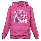 Le rugby est ma thérapie - Enfant Pull - Best Reviews Guide