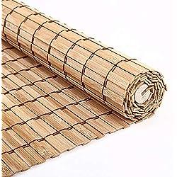 Persianas de Bambu Persianas Venecianas Madera De Bambú Natural, Persianas Enrollables De Filtrado De Luz, Opcionales De Varios Tamaños Persianas Venecianas Madera (Tamaño : 90x270cm)