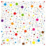 murando - Vlies Tapete Deko Panel Fototapete Wandtapete Wand Deko 10 m Tapetenrolle Mustertapete Wandtapete modern design Dekoration - Punkte Dots bunt Kinderzimmer e-B-0021-j-a