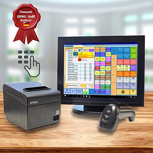15 Zoll All-In-One Kassensystem Poslab WavePos 66 mit SSD, schwarz, lüfterlos 51O2XbxJxEL