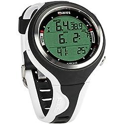 Mares Smart Montre de plongée Taille BX, Negro/Blanco (BKWH)