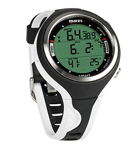 Mares Smart Reloj, Unisex Adulto, Black/White, One Size