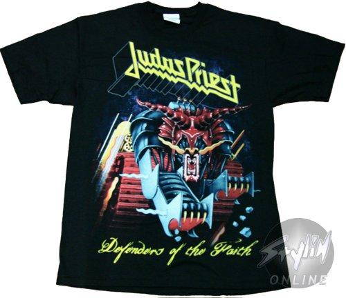 Judas Priest T-camiseta de manga corta en la articulación de los Faith protectores de