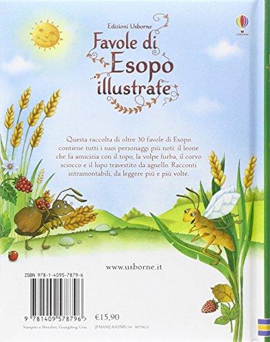 Libro Favole Di Esopo Illustrate Ediz Illustrata Di Susanna