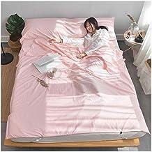 Sábanas Ropa de Cama portátil Algodón Doble Saco de Dormir Cubierta de Hotel Dirty Quilt 4