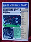 Birmingham City 2 Arsenal 1-2011 Carling Cup-souvenir,