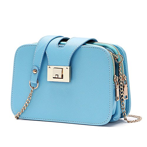 fanhappygo - Sacchetto donna blu