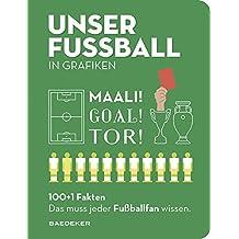 UNSER FUSSBALL in Grafiken: Baedekers 100+1 Fakten. Das muss jeder Fußballfan wissen (Baedeker 100+1 Fakten)