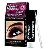 Verona Henna Creme für Augenbrauen und Wimpern Braun 30 ml