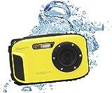 Aquapix W1627-Y Ocean Unterwasser-Digitalkamera in Gelb mit Li-Ion Akku
