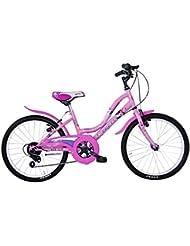 "Frejus 20"" CTB - Bicicleta para mujer, color rosa"