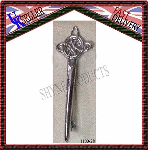 Deluxe tierras altas escocesas Irlanda Celta Falda Escocesa Cabeza BROCHE/broche IMPERDIBLE PARA Kilt