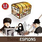 Kit anniversaire enfants 6/8 ans - chasse au trésor thème Espions...