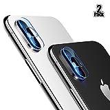 Beyeah [2-Unidades] [Versión Mejorada iPhone X cámara Protector de...