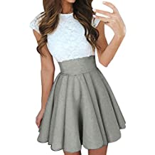 Ropa de Mujer Faldas Mini Dress para Falda Mujer Vestido de Básico