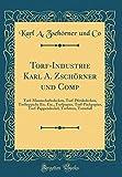 Torf-Industrie Karl A. Zschörner Und Comp: Torf-Mannschaftsdecken, Torf-Pferdedecken, Torfteppiche Etc. Etc., Torfpapier, Torf-Packpapier, Torf-Pappen
