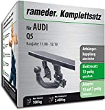 Rameder Komplettsatz, Anhängerkupplung abnehmbar + 13pol Elektrik für Audi Q5 (141282-07534-1)
