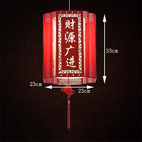 ALUK- classico cinese spazzolato soggiorno ristorante della lanterna lampadario