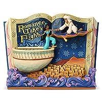 Enesco Disney Traditions by Jim Shore Storybook Aladdin Figurine, 5.7 Inch, Multicolor