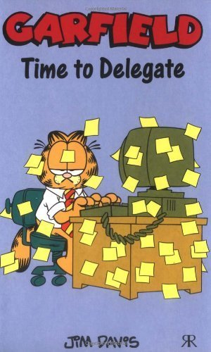 Garfield - Time to Delegate (Garfield Pocket Books) (Garfield Pocket Books) by Jim Davis (2008-02-04)
