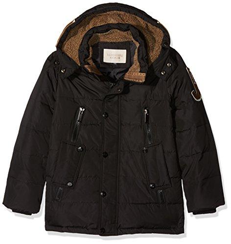 OUO Daunenjacke für Kinder kälteschutz lange Jacke mit abnehmbar Kapuze