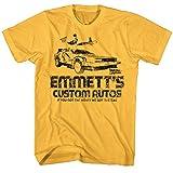 2Bhip Zurück zu dem ingwer T-shirt der zukunft film emmett für Herren XX-Groß Gelb