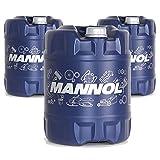 MANNOL 3 x 20 Liter, ATF-A Psf Servoöl Rot