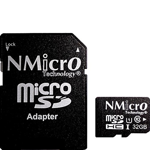 NMicro 32 GB 32GB 32G 32 Go 32 Go C10 Carte mémoire microSD micro micro SDHC SDHC microSDHC TF microSDXC sans adaptateur Classe 10 UHS-I flash memory card without adapter ultra