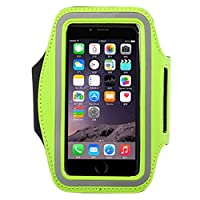 Phoenix Wonder Running Sports Armband Case cover for Cell-Phone with 4.9-6 Inch Screen,Green